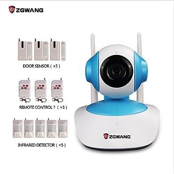 zgwang HD 720P Wifi cámara IP inalámbrica red seguridad para ...