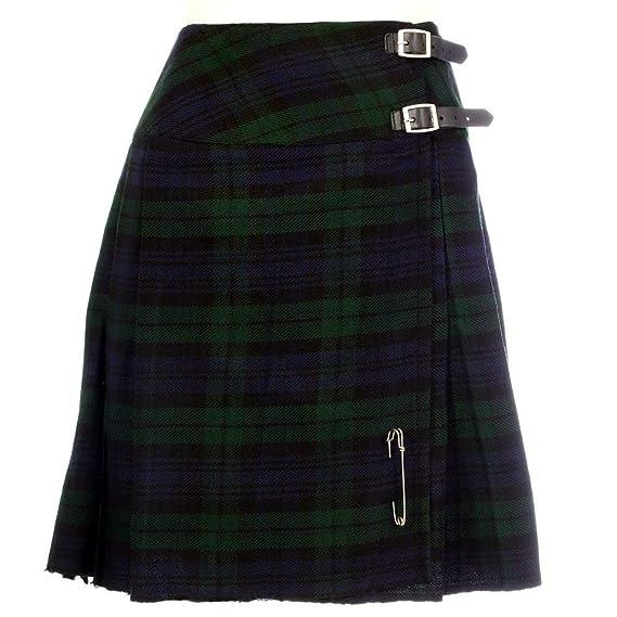 877de8330c1595 Neuf Femmes Écossais Montre Noir 20