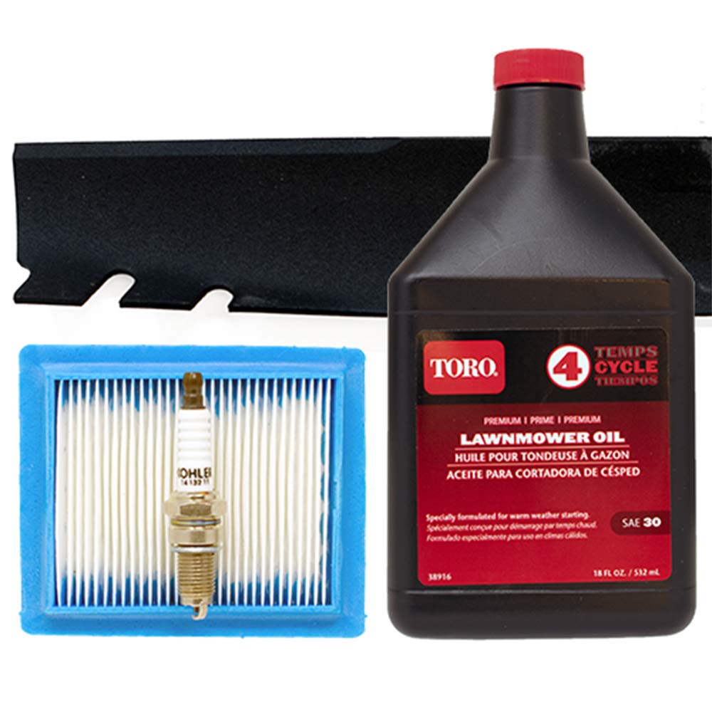 Toro Recycler with Kohler Engine Tune-Up Kit (Serial Number 315000001 and Higher)
