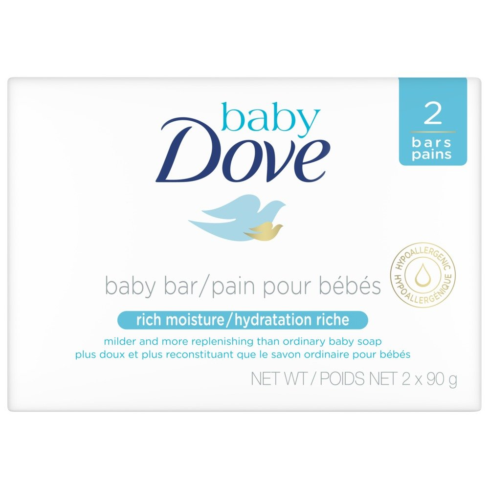 Baby Dove Rich Moisture Cleansing Bar 2x90g Unilever