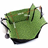 Amy Johny Foldable Dog Car Seat Cover 900D Nylon Waterproof Thick Soft Pet Outdoor Travel Carriers Bags For Dog Hammock (navi)