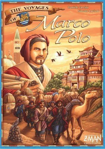 Z-Man Games The Voyages of Marco Polo: Amazon.es: Juguetes y juegos