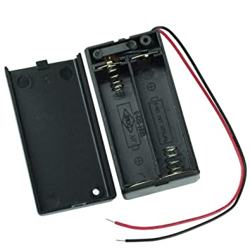 61cz8BcPjUL._SY355_ amazon com dsyj battery holder for 2aa battery w wires and switch