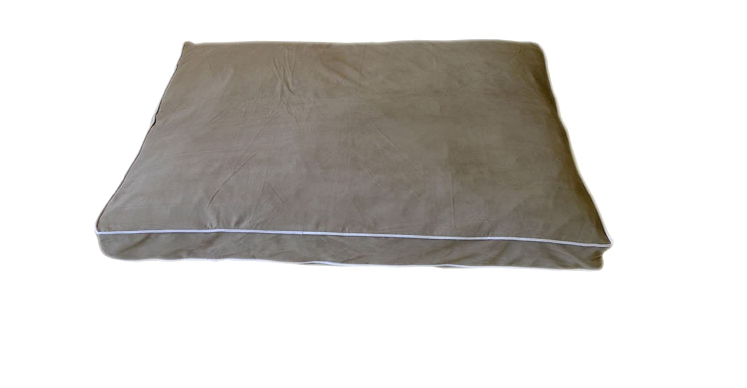 CPC Microfiber 36 x 27 x 4-Inch Sage Petnapper with Linen Piping, Small
