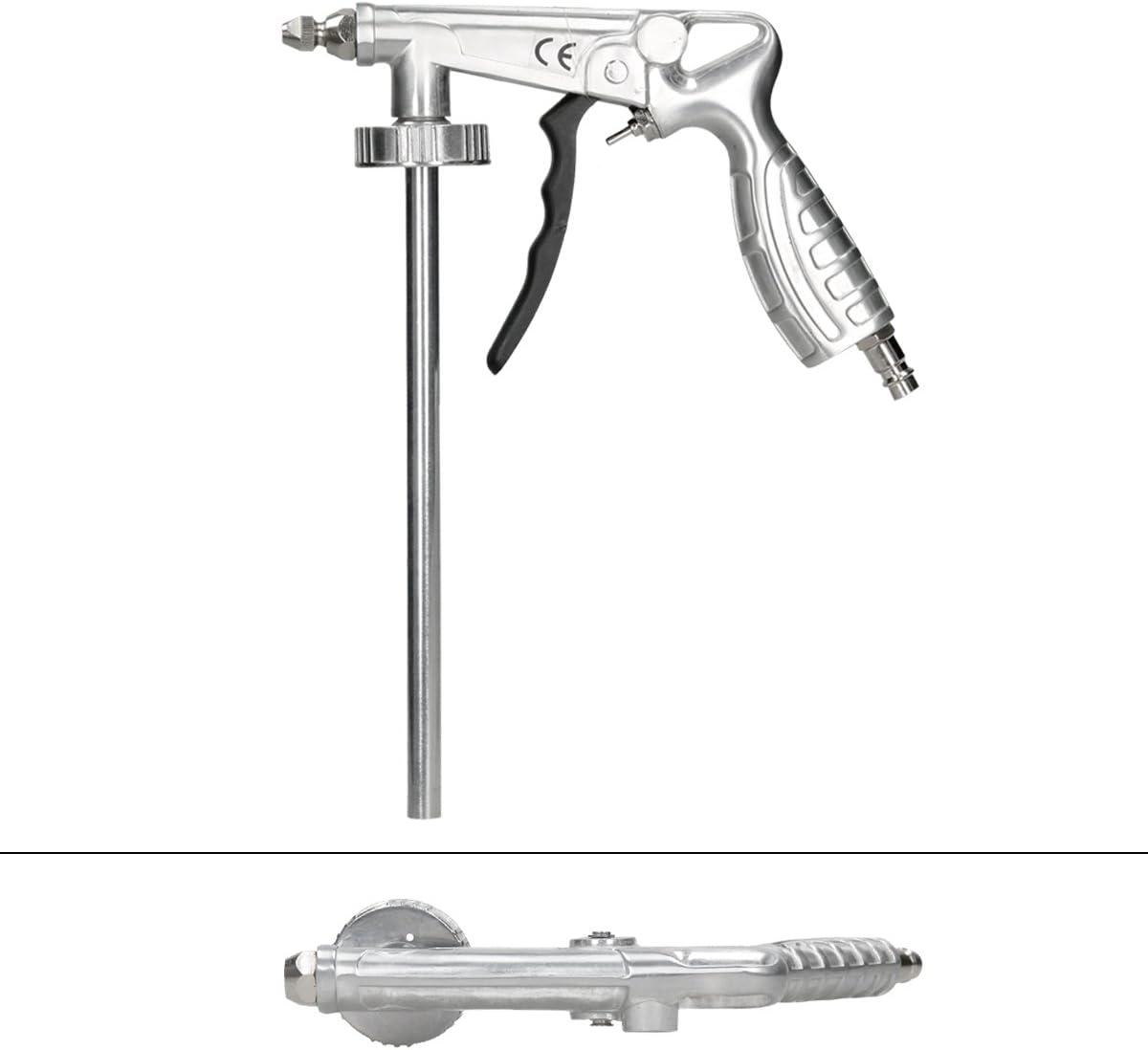 ECD Germany Pistolet /à air comprim/é Accessoire de soufflage Tuyau de pulv/érisation de 50 cm 8 Bar Pistolet pneumatique pour lentretien au bas du corps