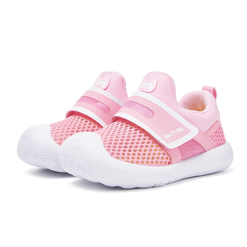 Baby Girl Water Shoes for Swimming Running Walking Size 9 Pink Soft Bottom by BMCITYBM