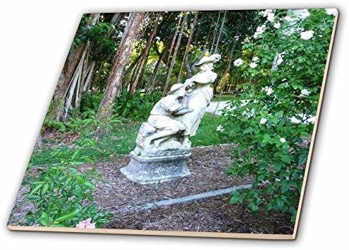 Estatua de jardín romántico con Banyan raíces – 8 Inch para baldosas de cerámica: Amazon.es: Hogar