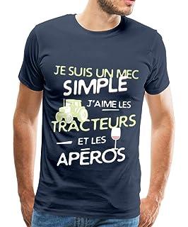 Simple Sweat Mec Un Teezily Capuche À Suis Je J'aime Tracteurs Les kZiPXTuO