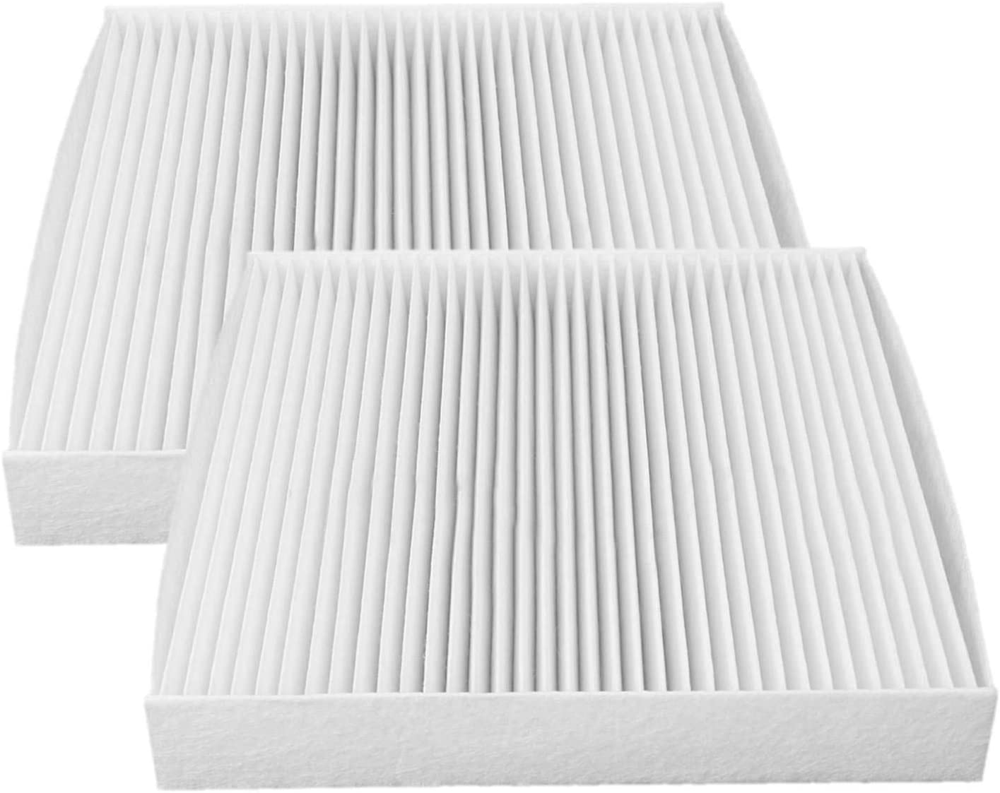 2 Pack White Cabin air filter for Toyota//Lexus//Land Rover//Pontiac,Replacement for CF10285,CP285