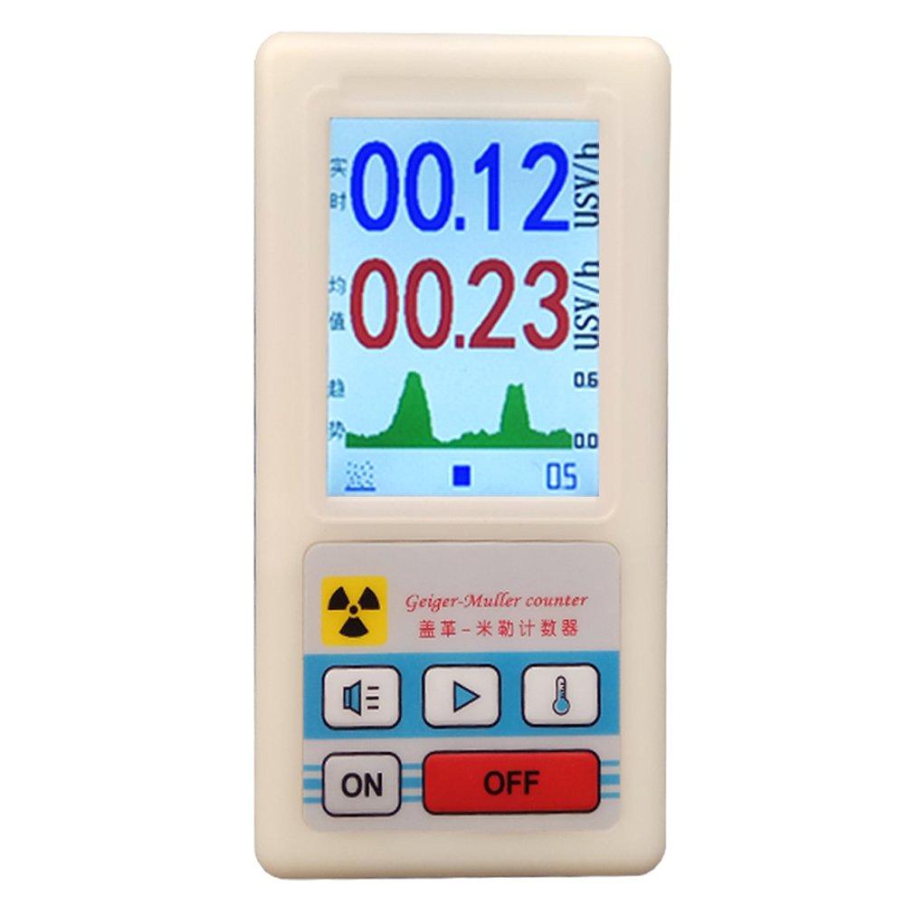 Waysear Professional Geiger Counter Nuclear Radiation Detector Diagram Personal Dosimeters Marble Meter Beta Gamma X Ray Data