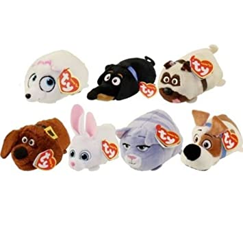 TY - Teeny Secret Life Of Pets Plush Soft Toy Full Set Of 7 Toys   Amazon.co.uk  Toys   Games 284db3a7eac