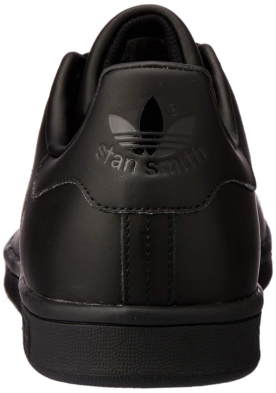 adidas Originals Stan Smith, Baskets Mode Mixte Adulte Noir (Schwarz)