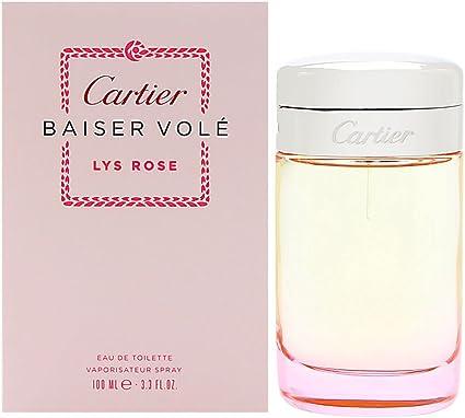 Cartier Baiser Vole Rose Eau de Toilette Spray for Women 100 ml