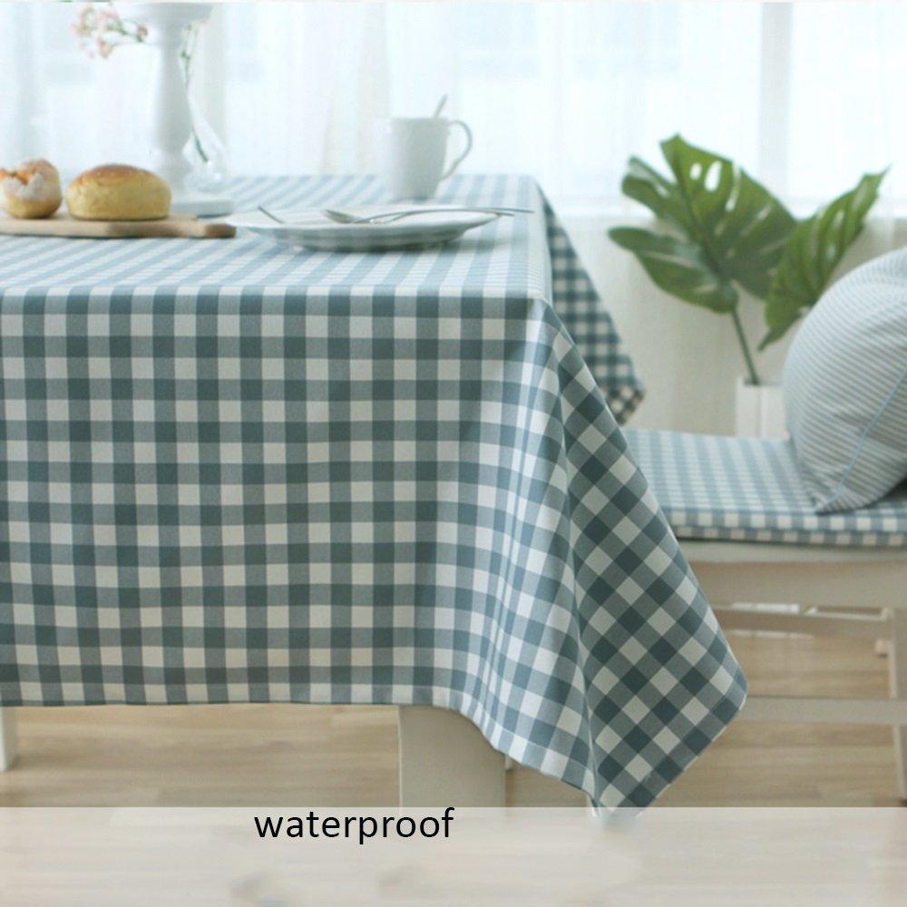 Mantel impermeable mantel simple la grata del gamuza toallas impermeables Casa Pequeño papel pintado fresca gamuza Partygiganten - Rectangular de mesa ...