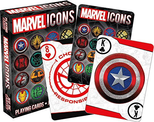 Aquarius Marvel Icons Playing Card]()