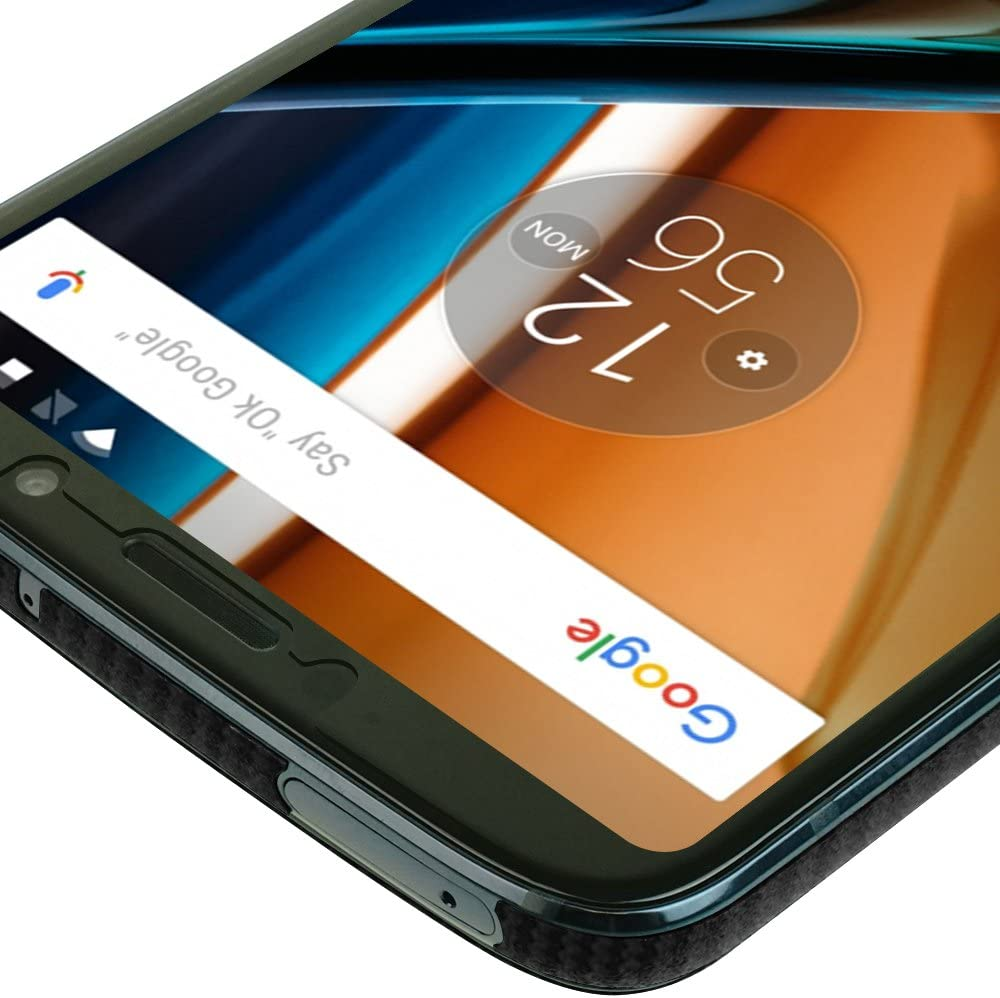 Moto Z3 Play Screen Protector Verizon Moto Z3 Skinomi TechSkin Carbon Fiber Film for Moto Z3 Play with Anti-Bubble Clear Film Screen Black Carbon Fiber Full Body
