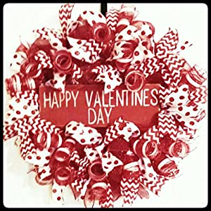 Valentine's Wreath, Valentine's Day Wreath, Valentine's Door Wreath 47