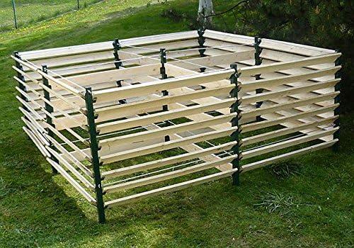 Jardín compostador 5100L termocompostador (Compost Contenedor compostador: Amazon.es: Jardín