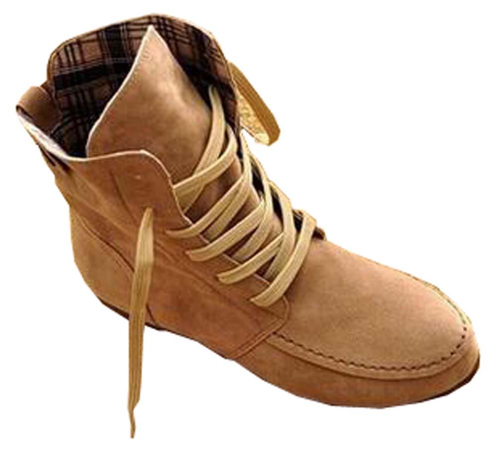 hiver bottes femmes bottes plates Martin plates bottes bottes chaussures étudiants 10403 Beige 129cde0 - automatisms.space
