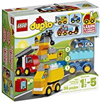 LEGO DUPLO My First Cars and Trucks 10816 Toy for...