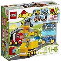 LEGO DUPLO My First Cars and Trucks 10816 Juguetes para niños de 2 años
