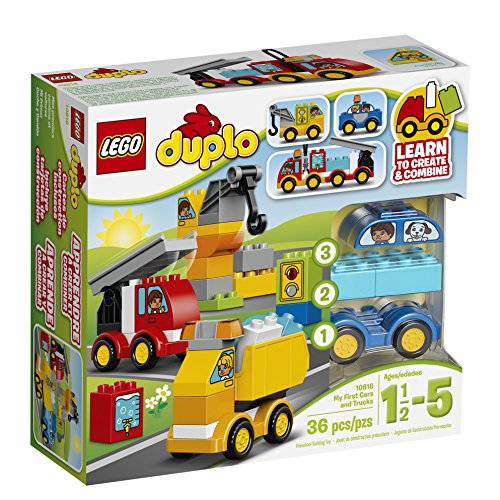 6 Passenger Car - LEGO DUPLO My First Cars and Trucks 10816 Toy for 1.5-5 Year-Olds