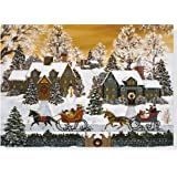 A Golden Age Holiday Boxed Cards (Christmas Cards, Holiday Cards, Greeting Cards)