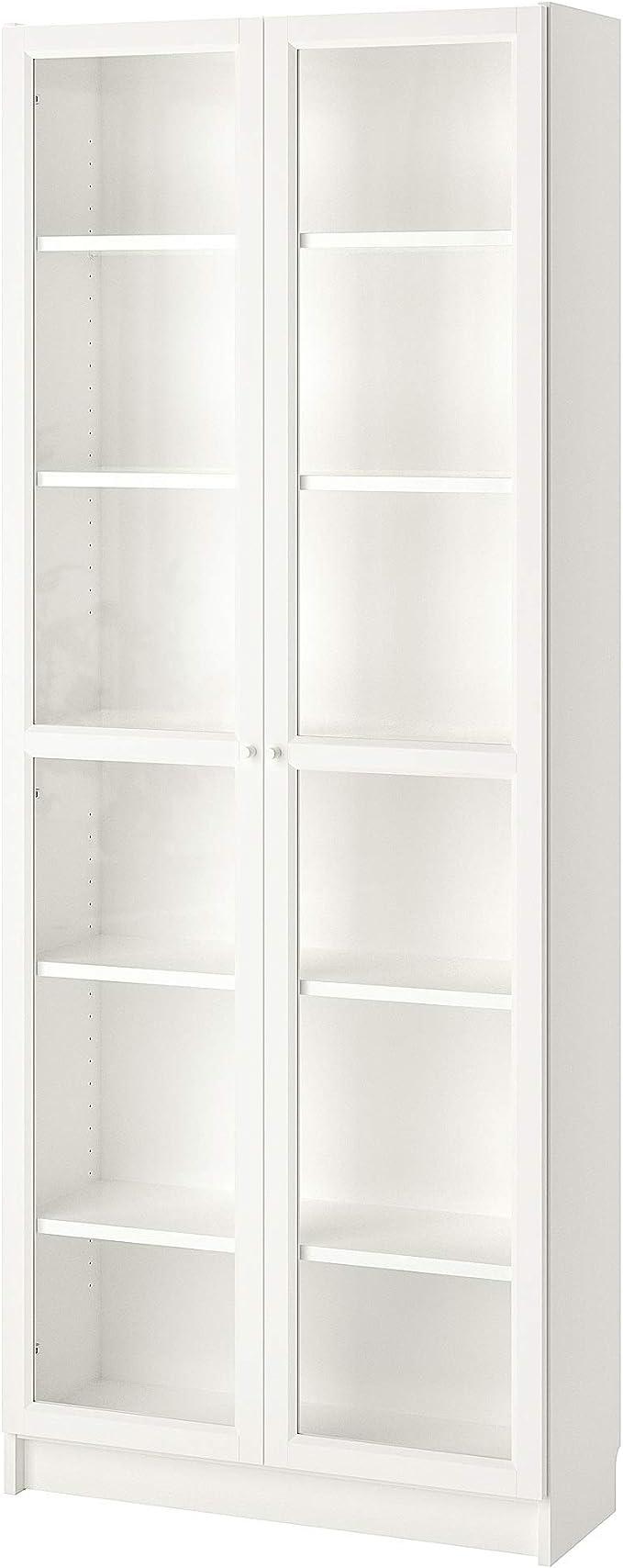 IKEA BILLY/OXBERG estantería 80x30x202 cm blanco ...