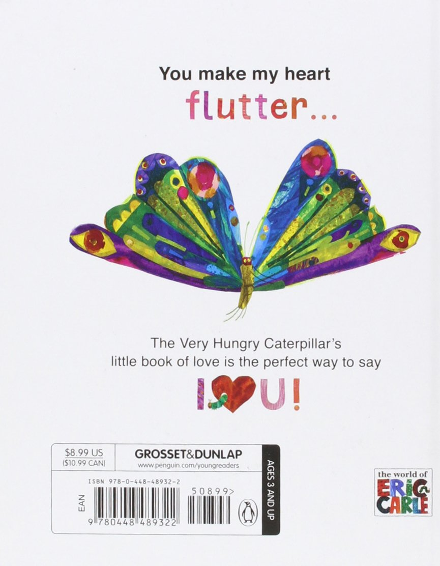 love from the very hungry caterpillar eric carle 9780448489322