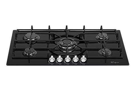 Amazon.com: Empava EMPV-36GC5L90I - Quemadores de cocina ...