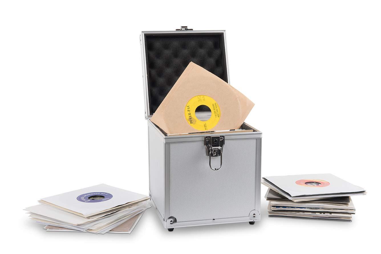 Acc-Sees Pro Vinyl 45 Caja de almacenamiento para discos de vinilo