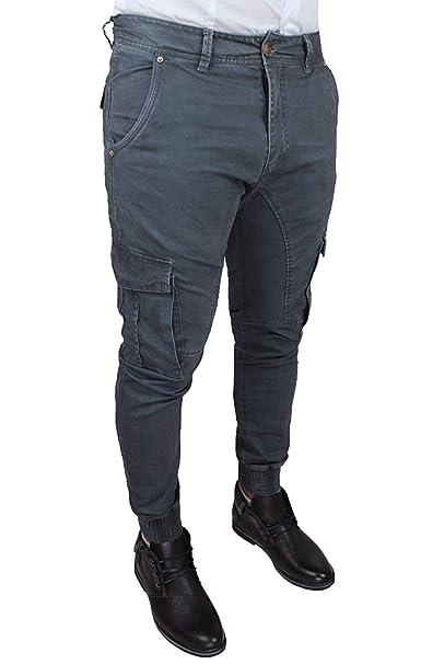 AK collezioni Maglione Dolcevita Uomo Blu Slim Fit