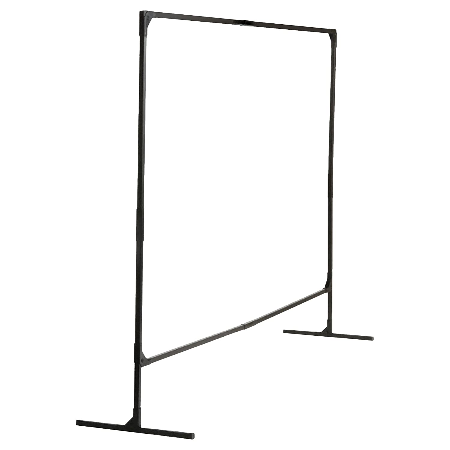 Wilson Stur-D-Screen Frame (36338), 6 x 8 feet, Single Panel, T Legs, Black, For Welding Curtains, 1 / Order Kimberly-Clark Professional