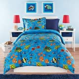 Kidz Mix Under the Sea Comforter Set, Twin, Blue