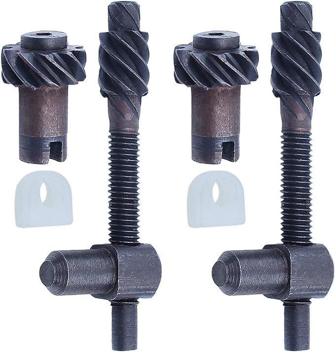 Adefol Ajustador de Cadena Tornillo Tensor para Motosierra Husqvarna 435, 445, 450 575260403