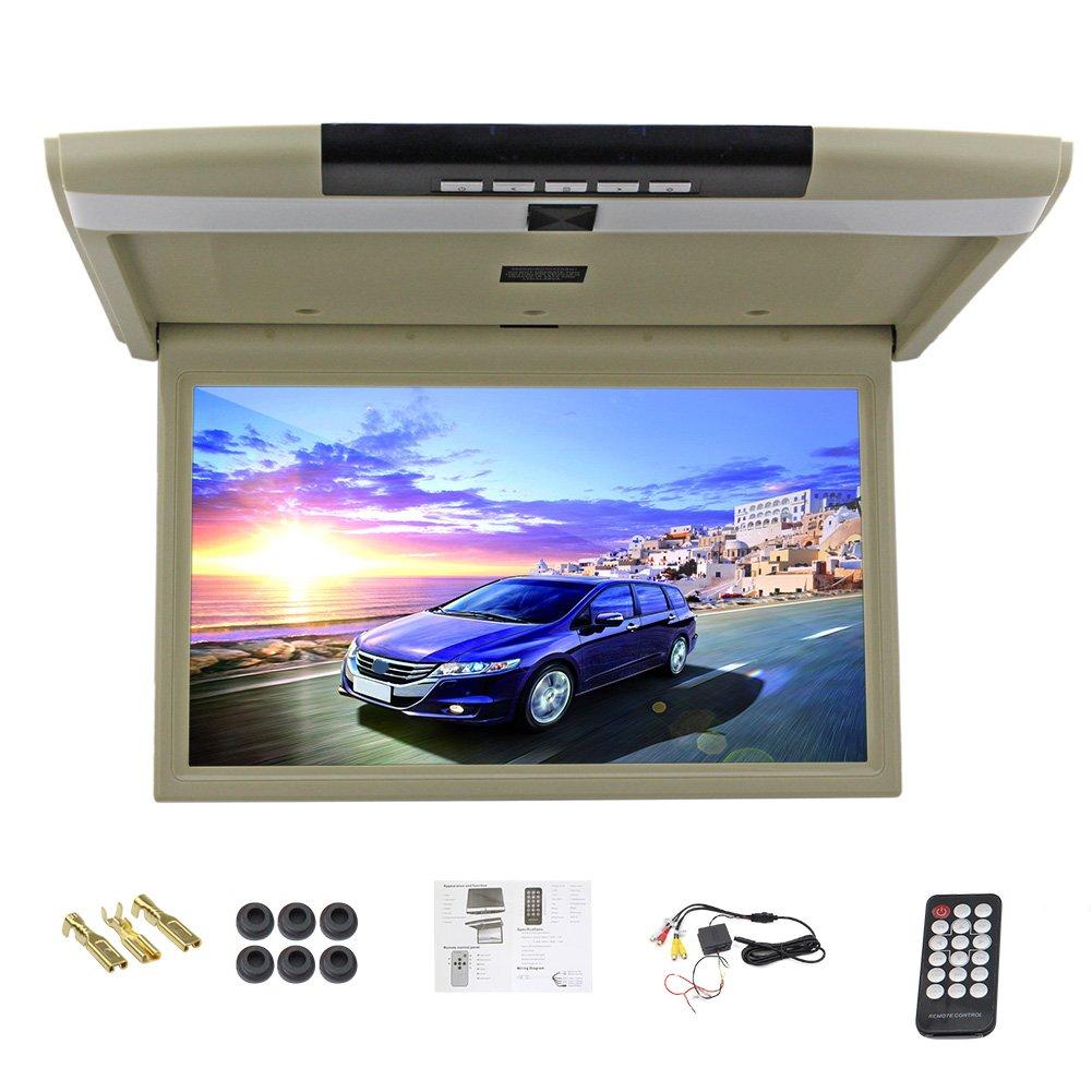 Car Monitor 15 Inch flip down monitor Display LED digital screen Car Roof Mounted Monitor car ceiling monitor