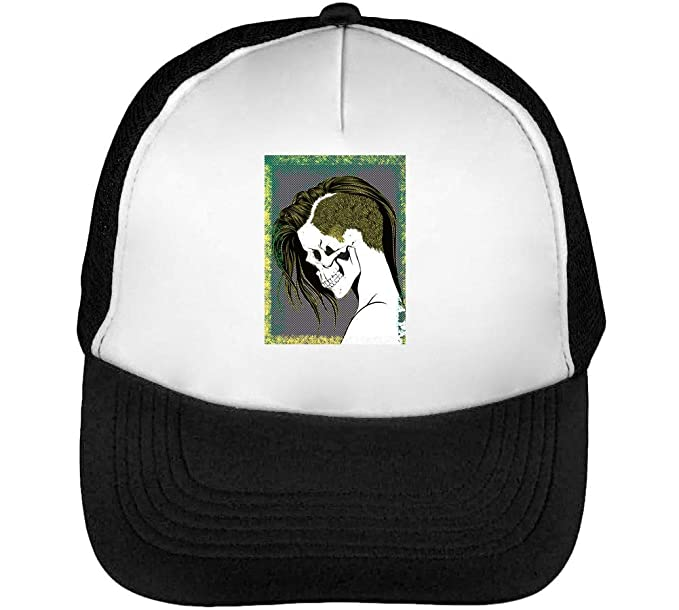 Punk Skull Anime Style Of Profile Colors Halloween Gorras Hombre ...