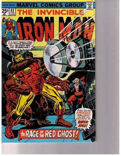 The Invincible Iron Man No 83 Feb. 1976 (The Rage of the Red Ghost!, Vol. 1)