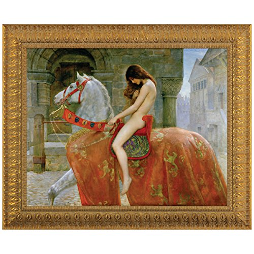 Design Toscano Lady Godiva Canvas Replica Painting: Large by Design Toscano