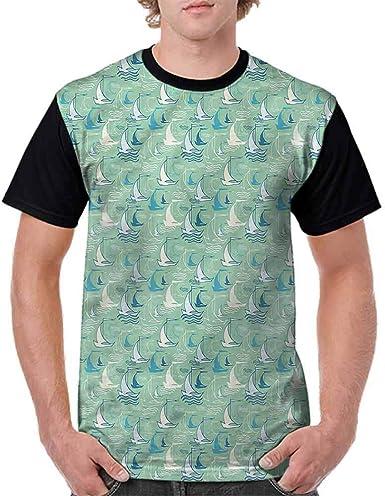 BlountDecor Classic T-Shirt,Mosaic Squares Design Fashion Personality Customization