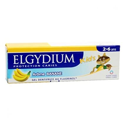 Elgydium - Banana niños pasta dental 50ml Elgydium Kids
