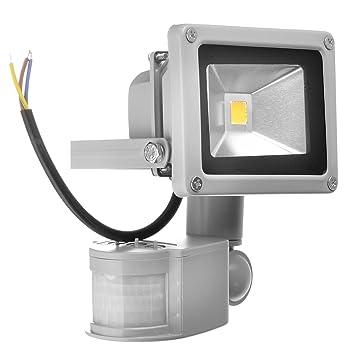 topnew – Luz de seguridad a LED con sensor de movimiento PIR, de bajo consumo