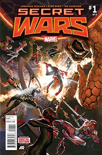 Secret Wars #1 of 8 First Printing