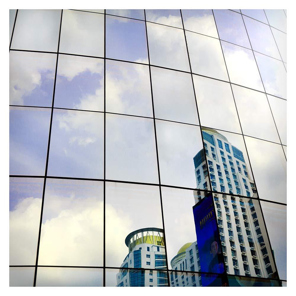 BDF S05 Window Film Daytime Privacy One Way Mirror Silver 5 (36in X 49ft)