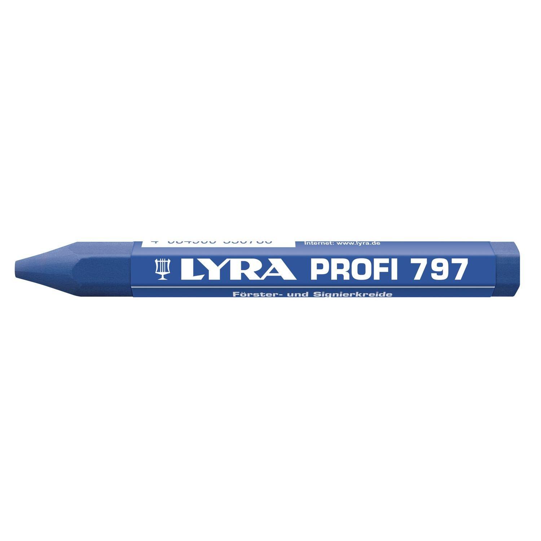 LYRA Fö rsterkreide 797 Inhalt 12 Stü ck, blau, 4870051 BLUM