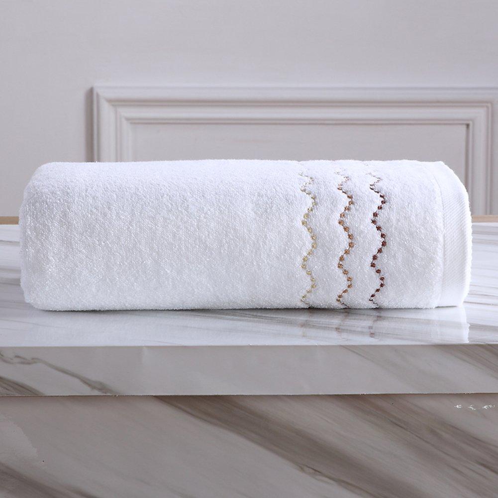 toalla de baño/ algodón adultos aumentan las toallas de algodón grueso para hombres y mujeres/Hoteles parejas bordada toalla blanca de agua dulce los ...