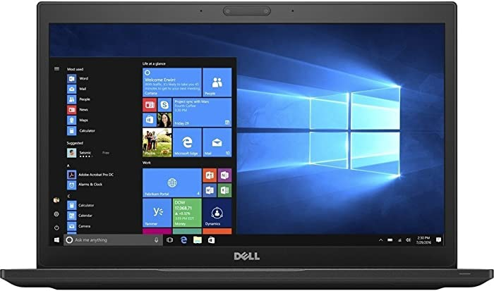 Dell Latitude 7480 Business-Class Laptop | 14.0 inch FHD Touch Display | Intel Core 7th Generation i7-7600 | 16 GB DDR4 | 512 GB PCIe M.2 NVMe SSD | Windows 10 Pro (Certified Refurbished)