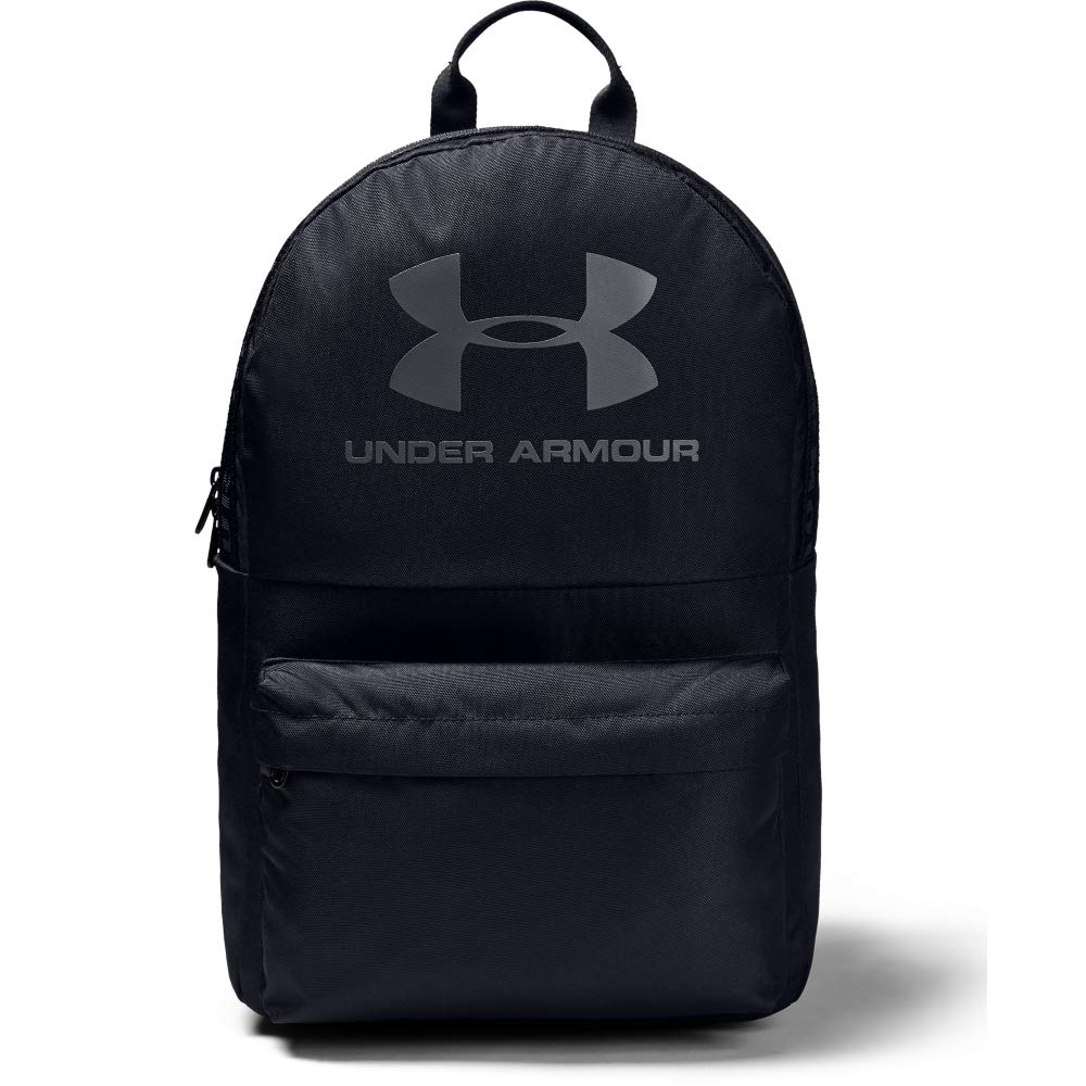 Under Armour Unisex Loudon Backpack, Black//Pitch Gray, One Size Fits All