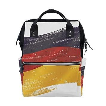DEZIRO- Mochilas de Lona con Bandera Alemana de Turquía, Color 4, tamaño Talla única: Amazon.es: Deportes y aire libre