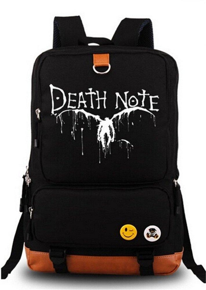 Siawasey ® Death NoteアニメライトYagamiコスプレショルダーバッグバックパックスクールバッグ B00VWTQ71E